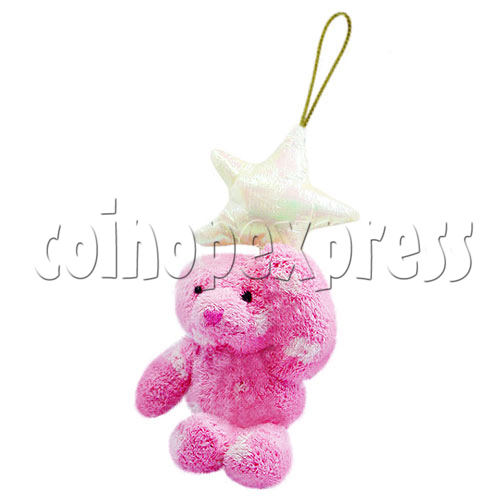 "4"" Teddy Bear With Lucky Star 10396"