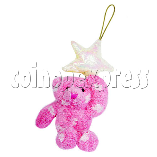 "4"" Teddy Bear With Lucky Star 10398"