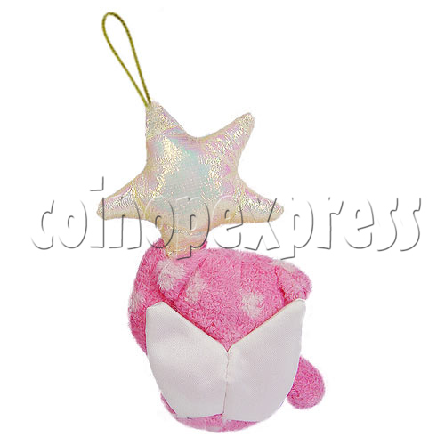 "4"" Teddy Bear With Lucky Star 10399"
