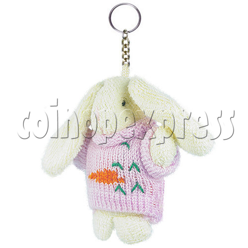 "4"" Bunny Rabbit Plush Toy 14600"