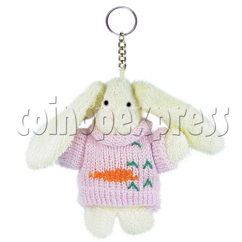 "4"" Bunny Rabbit Plush Toy 14601"