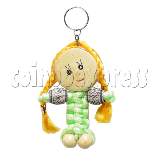 Fabric Girl Key Rings 12628