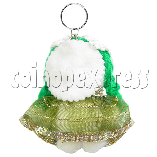 Fabric Girl Key Rings 12631