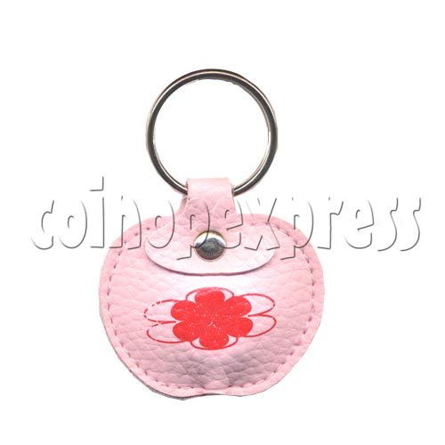 Leather Light-up Key Rings 9786