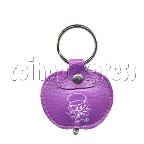 Leather Light-up Key Rings 9787