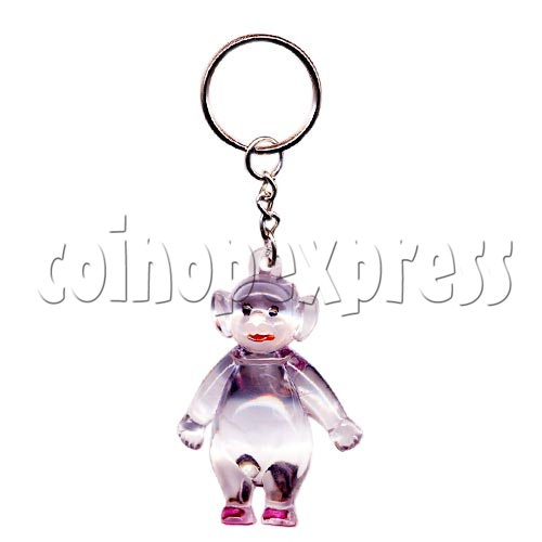 Artificial Crystal Cartoon Key Rings 10307