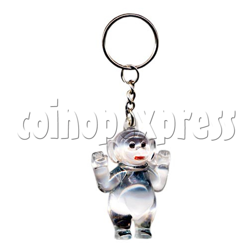 Artificial Crystal Cartoon Key Rings 10308