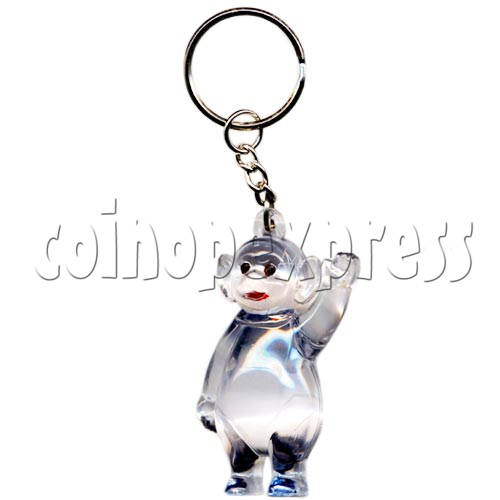 Artificial Crystal Cartoon Key Rings 10309