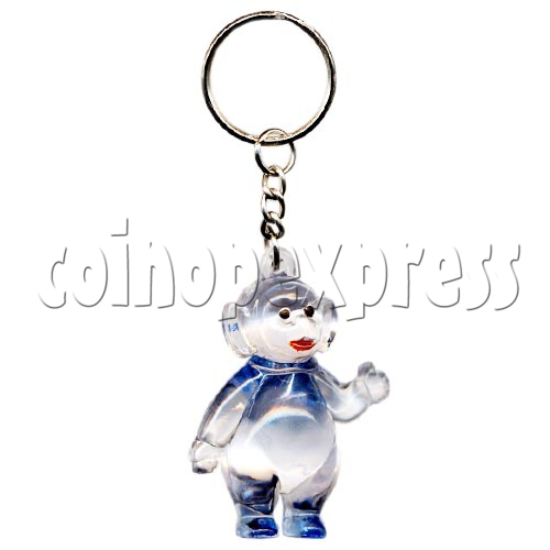 Artificial Crystal Cartoon Key Rings 10310