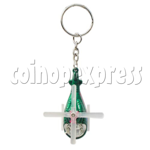 Mini Helicopter Light-up Key Rings 10623
