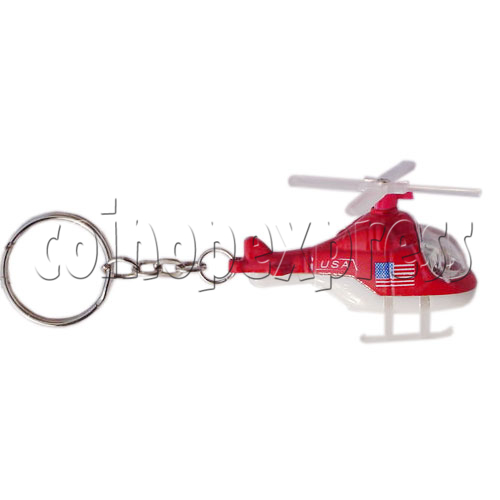 Mini Helicopter Light-up Key Rings 10953