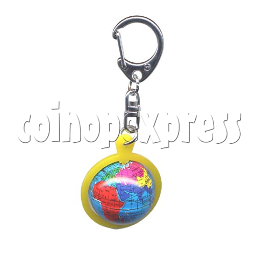 Small Sports & Sphere Key Rings 9811