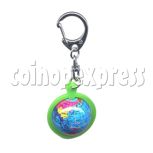 Small Sports & Sphere Key Rings 9812