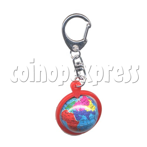 Small Sports & Sphere Key Rings 9813