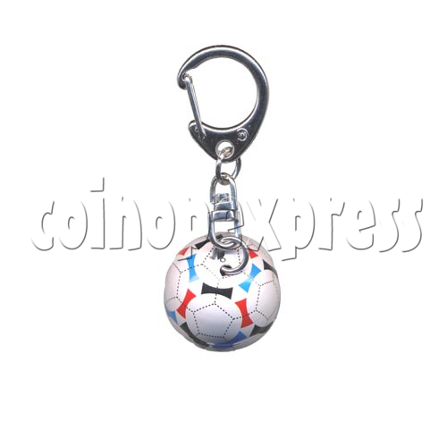 Small Sports & Sphere Key Rings 9814