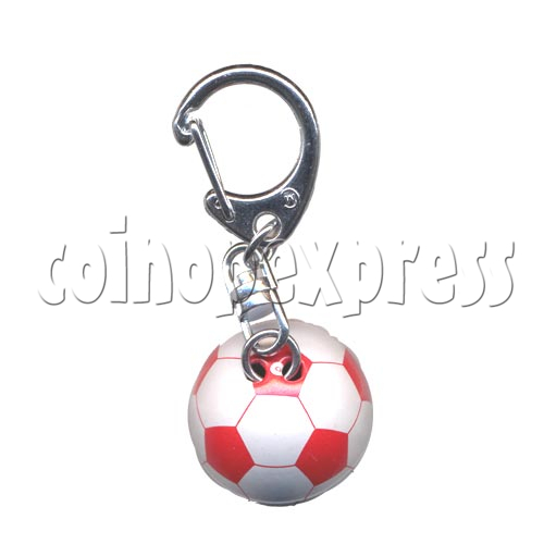 Small Sports & Sphere Key Rings 9815