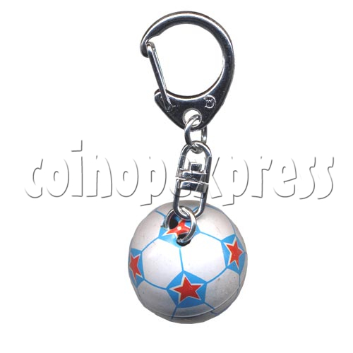 Small Sports & Sphere Key Rings 9816