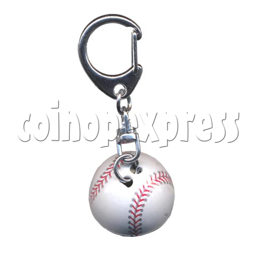 Small Sports & Sphere Key Rings 9817
