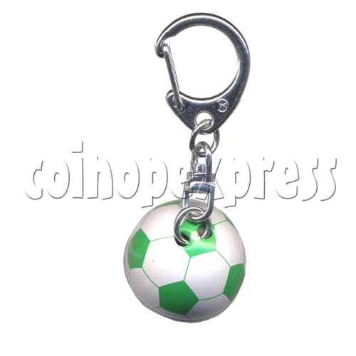 Small Sports & Sphere Key Rings 9818