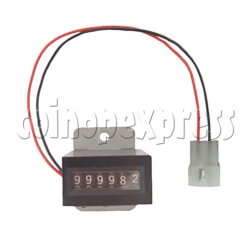 6 Digit Meter With Plug 11143