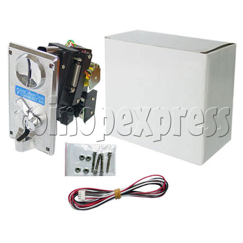 Electronic Comparable Front Type Coin Acceptor 12481