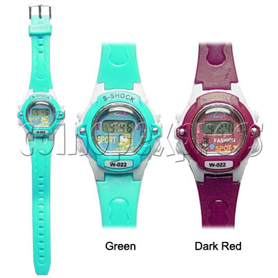 PVC Kid Watches 11720