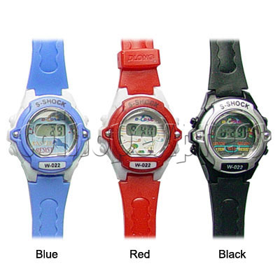 PVC Kid Watches 11721