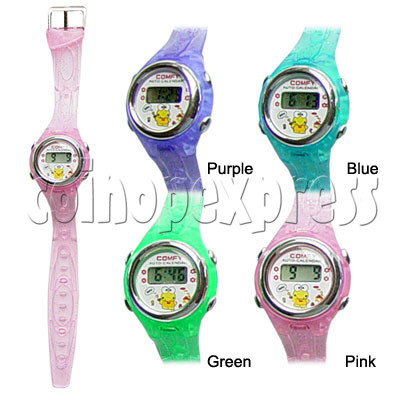 PVC Kid Watches 11722