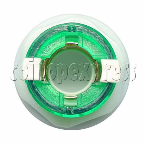 33mm Round Illuminated Push Button - Color Body with White Top 11995