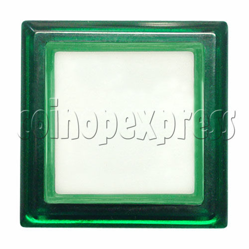 33mm Square Illuminated Push Button - Color Body with White Top 12004