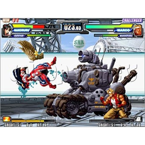 NeoGeo Battle Coliseum Kit -artwork 12244