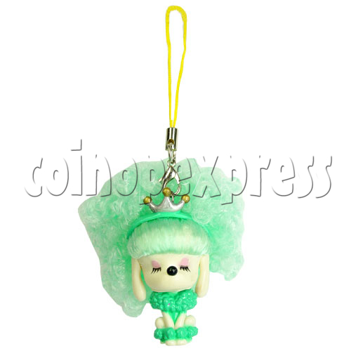 Cold Light Color Hair Change Cellular Phone Strap 12438