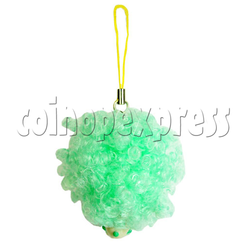 Cold Light Color Hair Change Cellular Phone Strap 12439