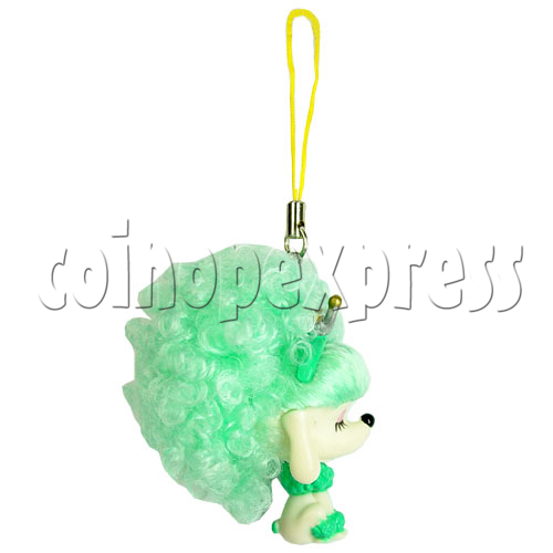 Cold Light Color Hair Change Cellular Phone Strap 12442