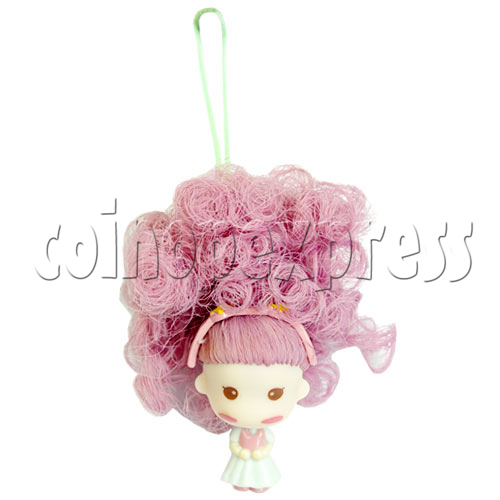 Color Hair changing Cell Phone Strap 12444