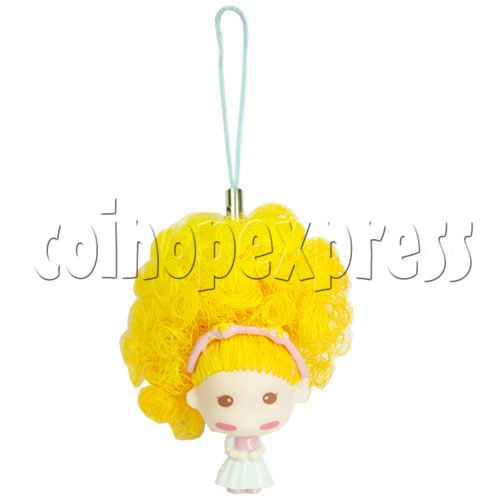 Color Hair changing Cell Phone Strap 12445