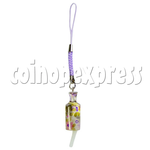 Flashing Bottle Mobile Strap 12692