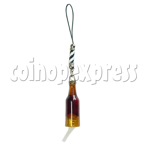 Flashing Bottle Mobile Strap 12694