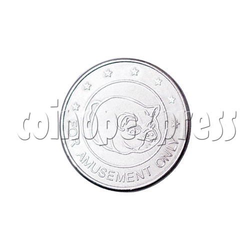 Token-Zinc Alloy 13548
