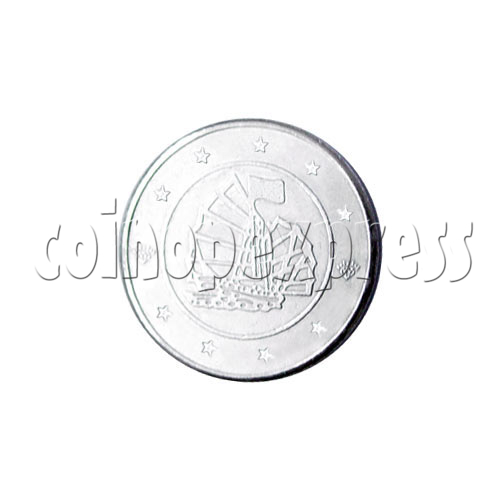 Token-Zinc Alloy 13550