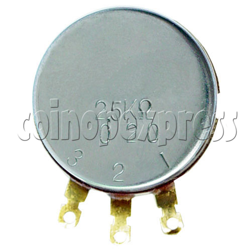 Potentiometer 2.5K ohm 13612