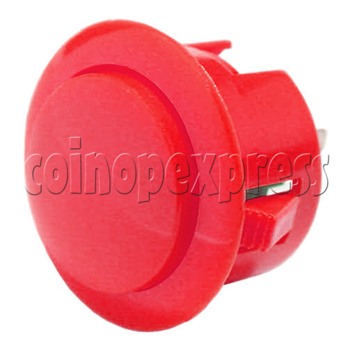 30mm Round Momentary Contact Push Button 24409