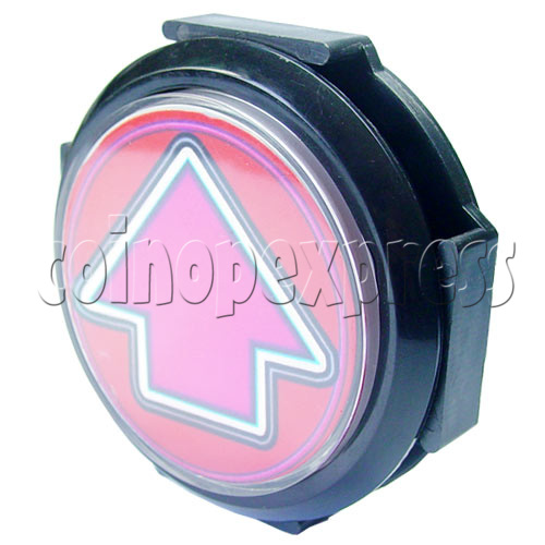 100mm Music Arrow Push Button with Lamp 17555