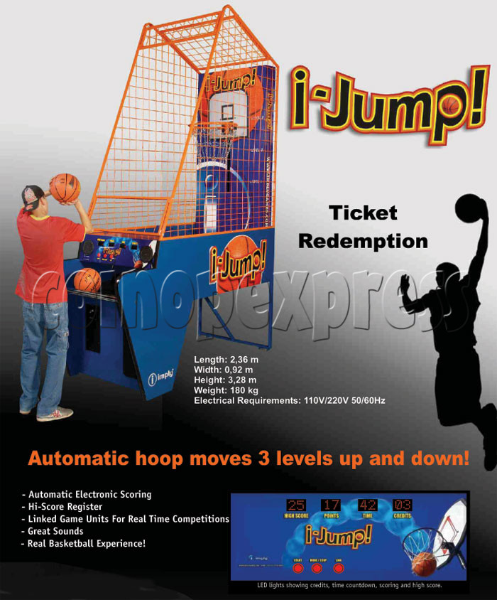 I-Jump (Basketball Machine) 18863
