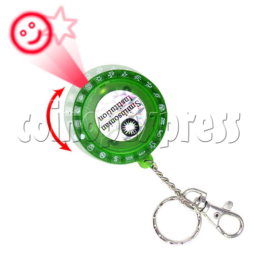 LED Laser Pointer Key Ring 19257