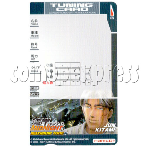 Memory Card for Wangan Midnight Maximum Tune 3 19585