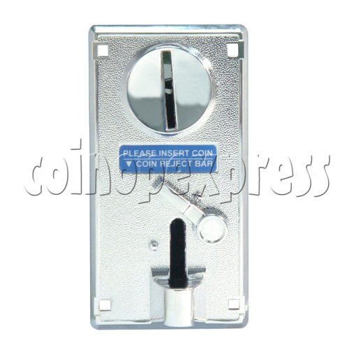 Coin Acceptor - plastic mechanical front drop 20460