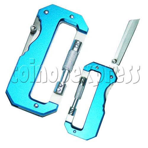 Carabiner tool set with LED Light 20072