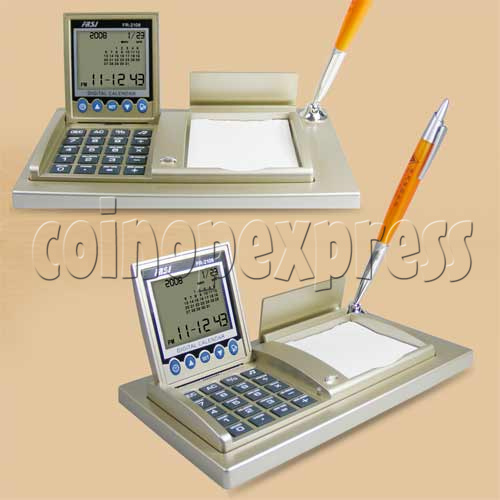 Universal Time Clock with Calculator 20217