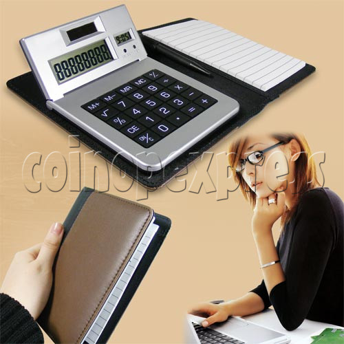 Notebook with Calculator 20289